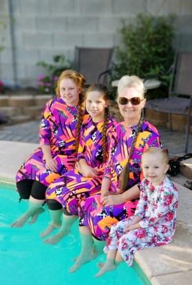 Ladies modest swim dress