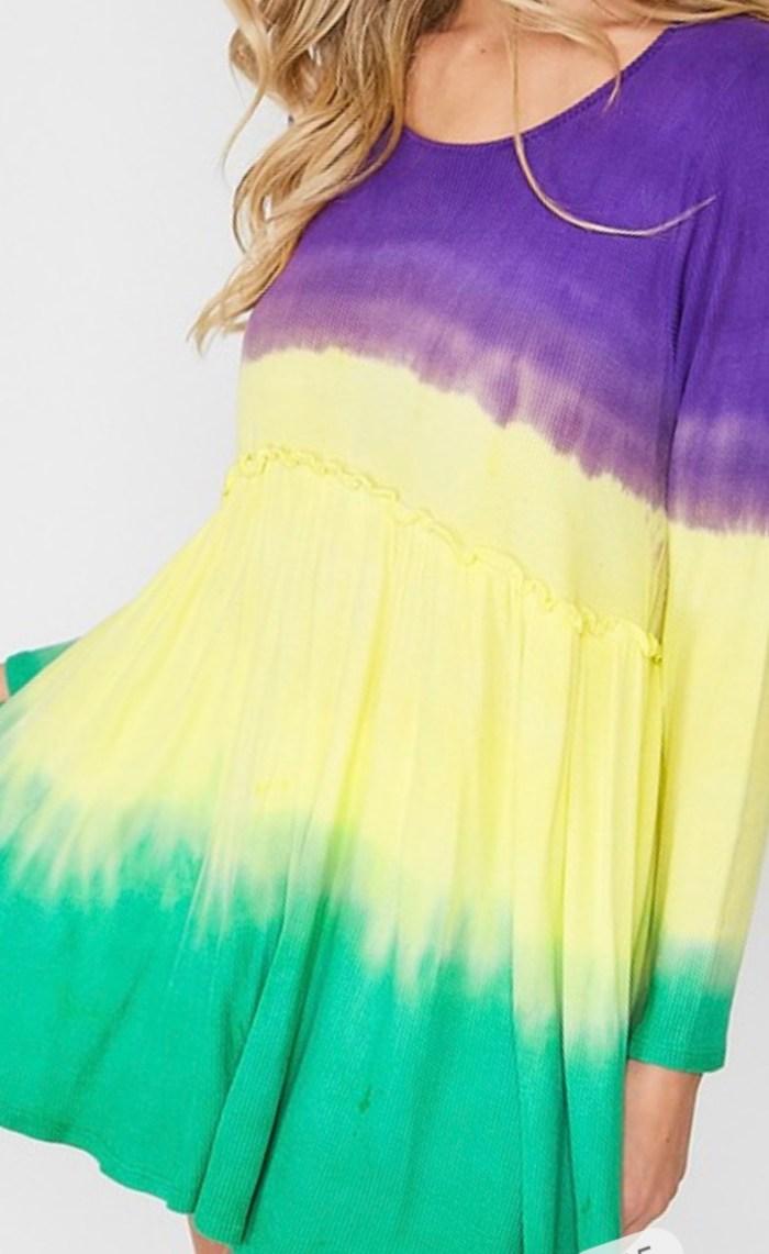 Dip dyed tunic