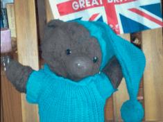 Toby Bear is my Winnie the Pooh