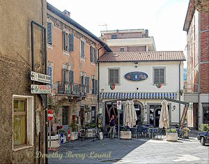 The Market Town of Tavernelle, Umbria, Italy