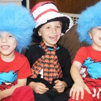 Party Decorations inspired by Dr. Seuss