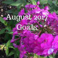 August 2017 Goals and a look back at July