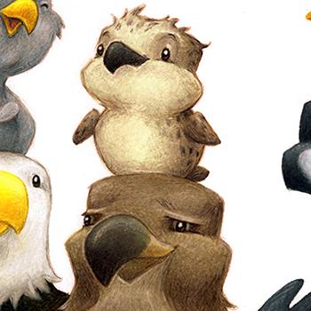 AARON ZENZ Childrens Book Illustrator Traditional Illustrator Animal Illustrations