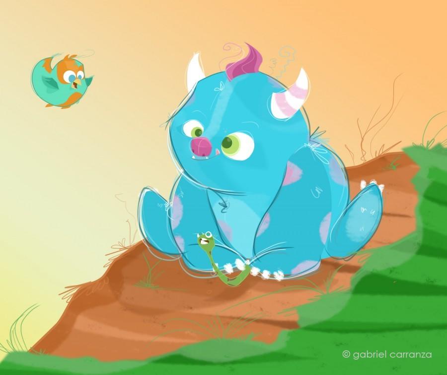GABRIEL CARRANZA 2D Digital and Character Developer Illustrator Illustrator