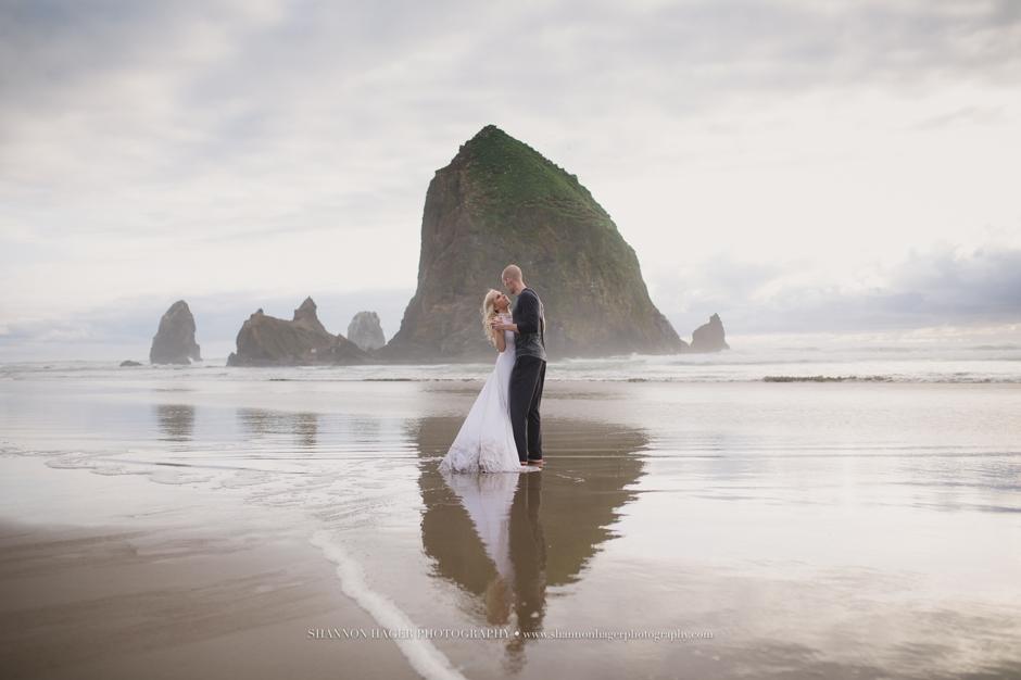 Oregon Coast Elopement Photographer Cannon Beach