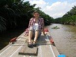 Boat ride in the delta