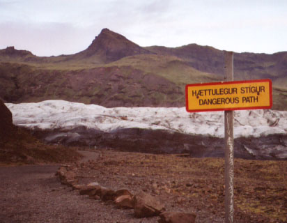 What, walking over 10,000-year-old ice is dangerous?