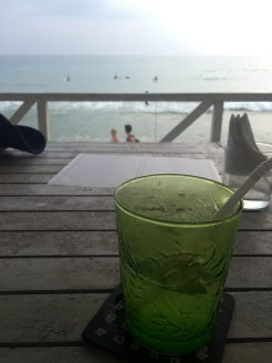 Mojito by the beach