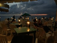 Loved these spots along the beach. Happy hour, all the time.