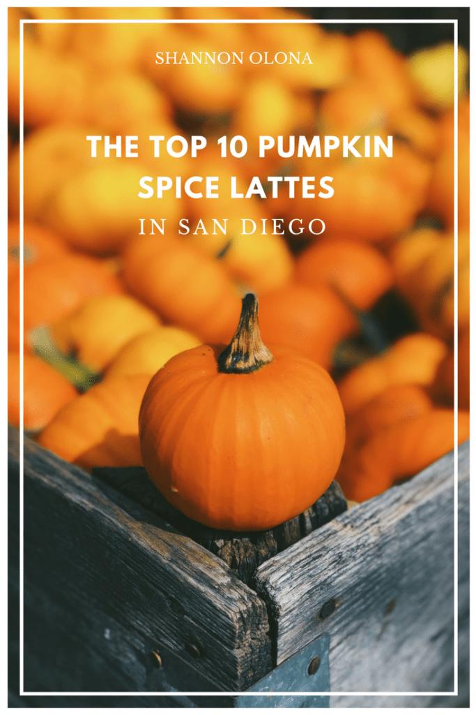 san diego pumpkin spice lattes