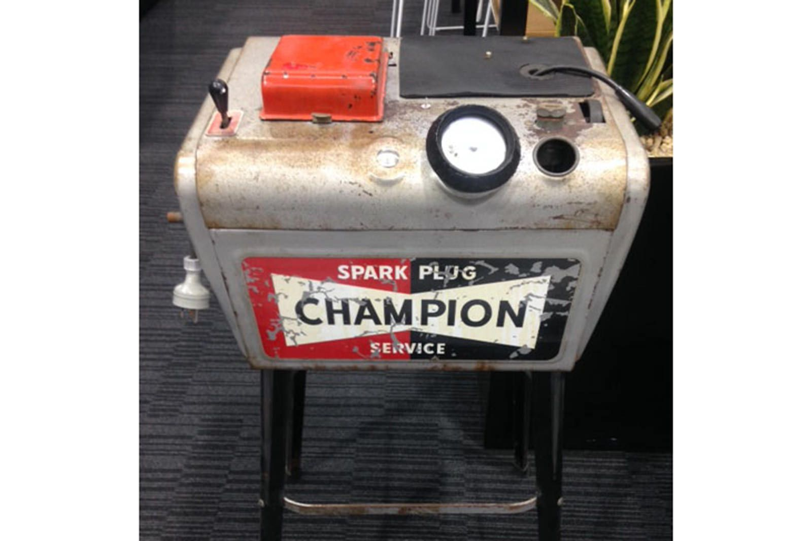 hight resolution of champion spark plug cleaner original condition and working