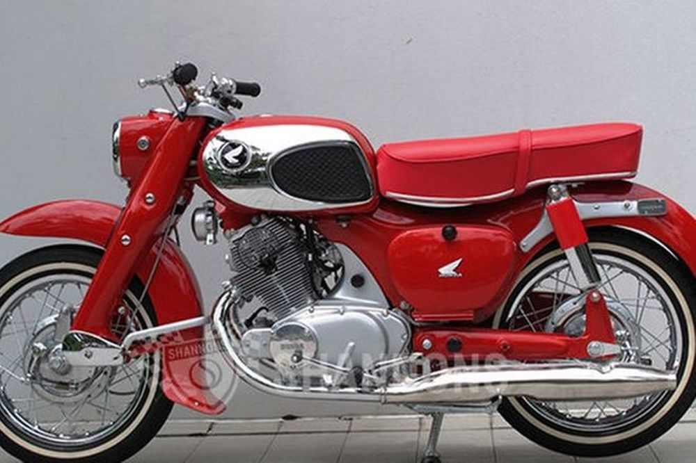 medium resolution of honda cb77 305cc dream motorcycle