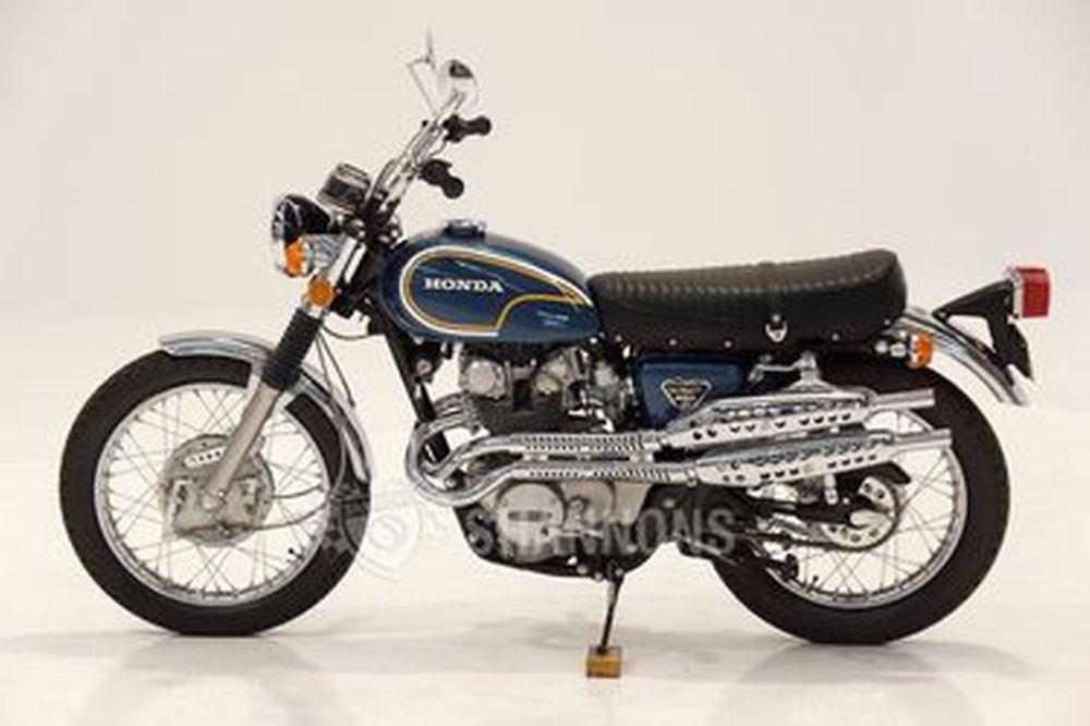 medium resolution of honda cl450 scrambler dohc motorcycle