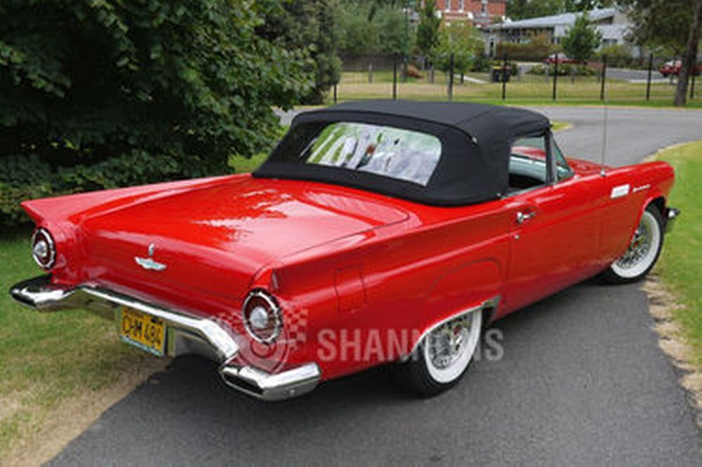 medium resolution of ford thunderbird convertible lhd