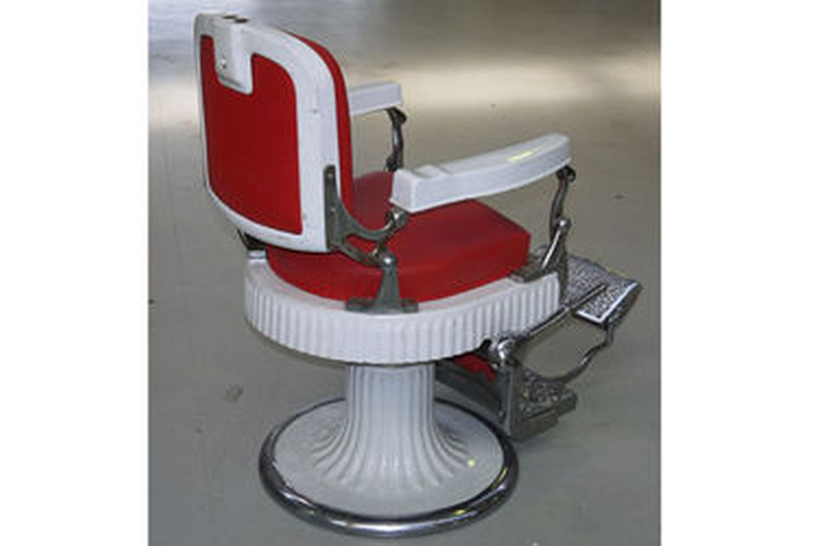 Sold Barber Chair  Antique Koken 546 with porcelain arms