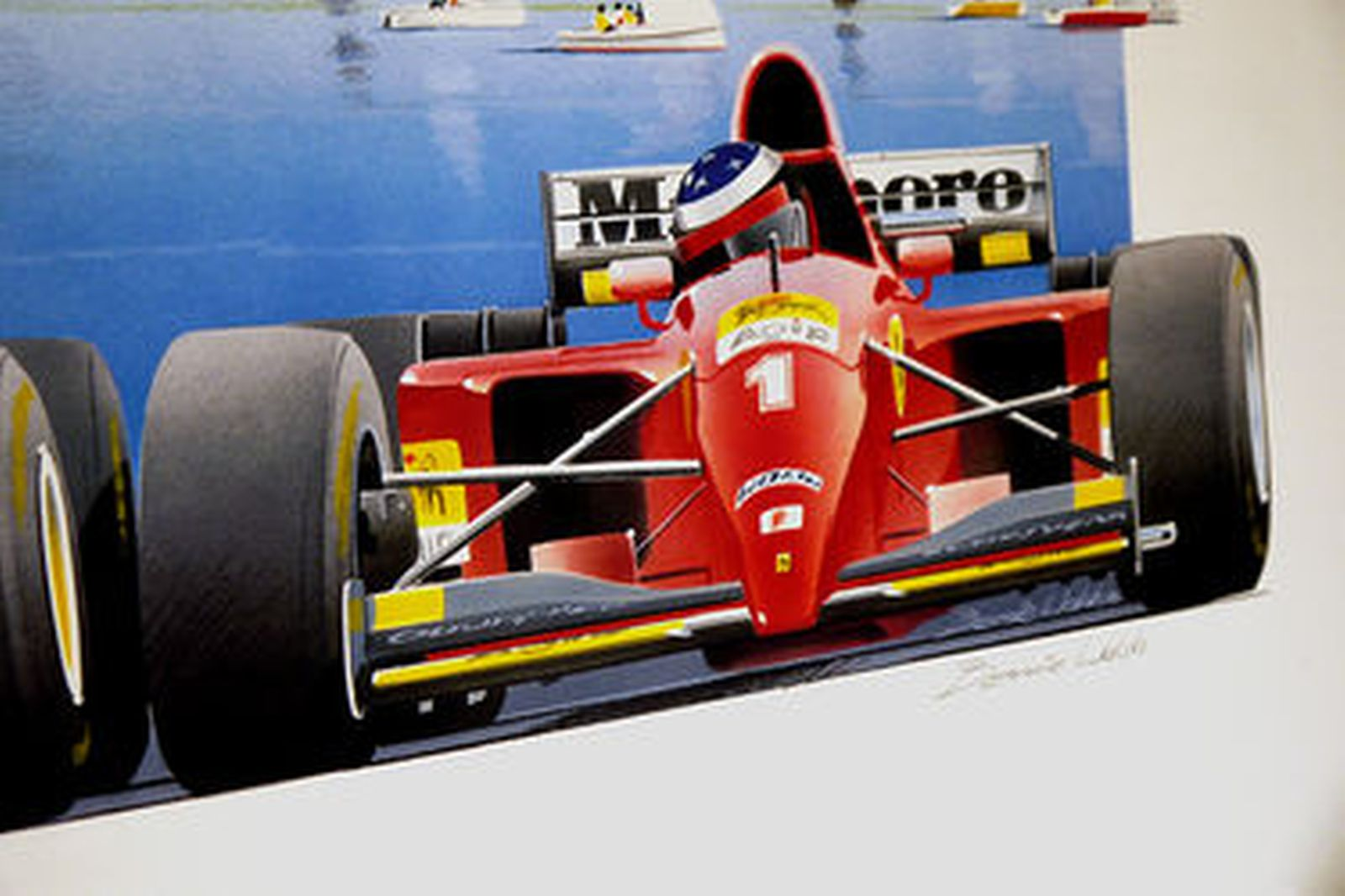 hight resolution of framed print who will it be 1996 melbourne grand prix