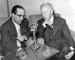 Karl Haas & Arthur Rubenstein
