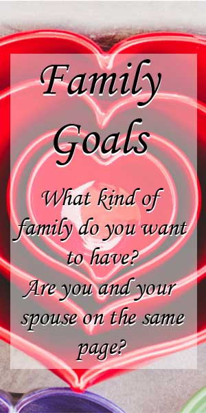 Family Goals-Planning the Kind of Family You Want to Have