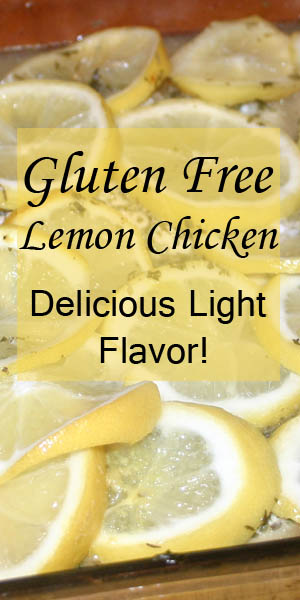 Gluten Free Lemon Chicken- delicious light flavor