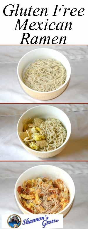 Gluten Free Mexican Ramen-Spicy Noodles