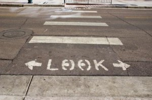 Crosswalks aren't magical safety zones! Pedestrians and drivers both have a responsibility.
