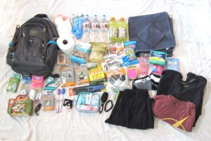 72 Hour Kit for a gluten free college student