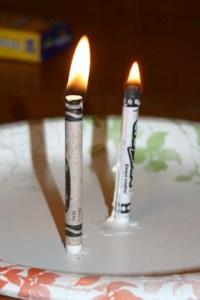 Will Crayola burn the same?