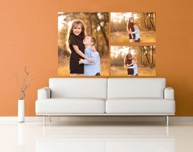 wall portraits living rooms. How To Display Your Portraits Wall Prints The Woodlands Spring Family Portrait In Living Room  Centerfieldbar com