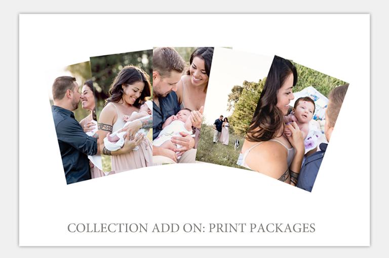 family portrait print packages