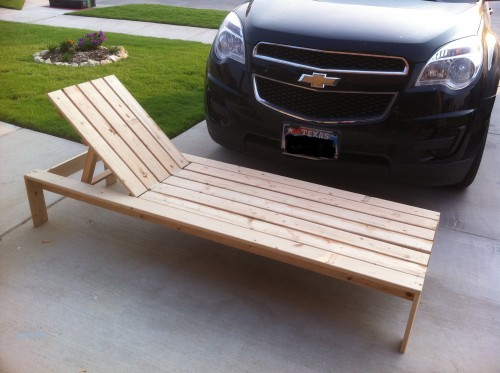 diy wood lounge chair plans