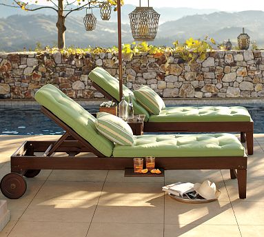 DIY Outdoor Chaise Lounge - Shanty 2 Chic