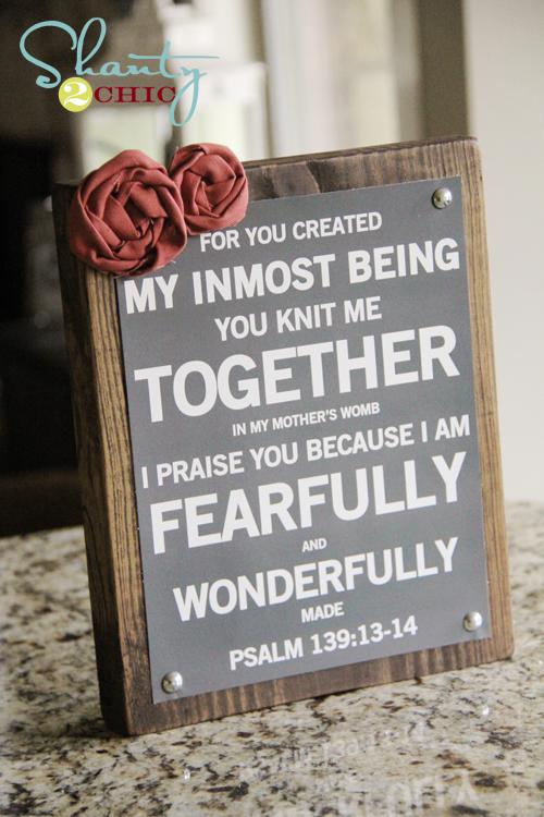 Psalm 139 Free Printable