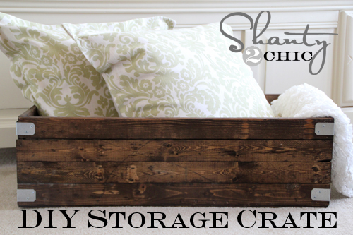 DIY Wooden Storage Crate Project