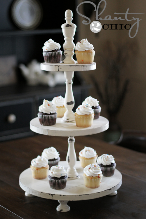 Diy Shanty Cupcake Tower Shanty 2 Chic