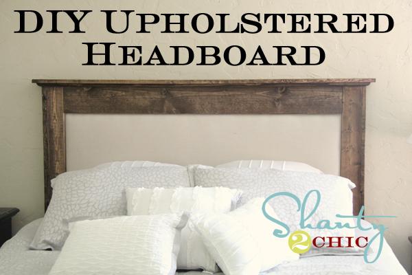 Diy Upholstered Queen Headboard, Upholstered Queen Bed Frame Diy