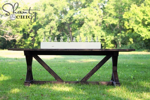 DIY Dining Table budget plans