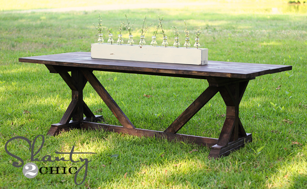 Diy Dining Table For Only 65 Shanty 2 Chic