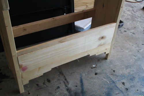 how to install a drawer face