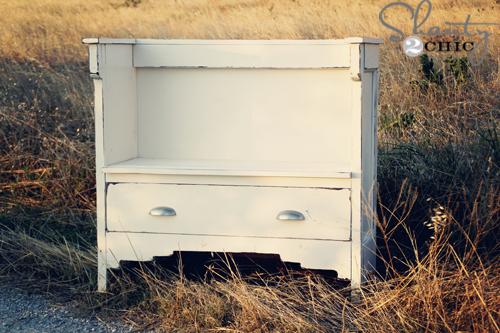 Vintage DIY Bench