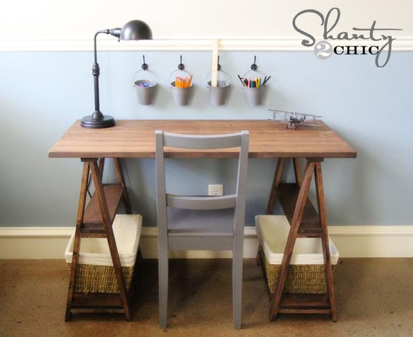 DIY Kids Desk