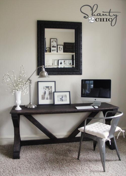 desk in bedroom  Shanty 2 Chic