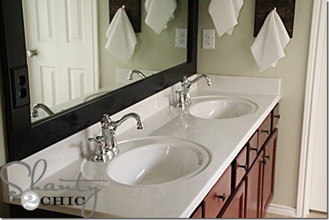 Quick Bathroom Update and a Moen Giveaway  Shanty 2 Chic