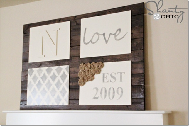 DIY Wall Art Pallet