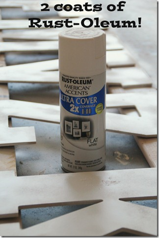 Rust-Oleum Flat White