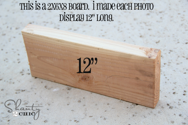 Photo Display Gift & Free Printables