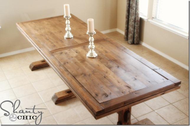 diy farmhouse style table