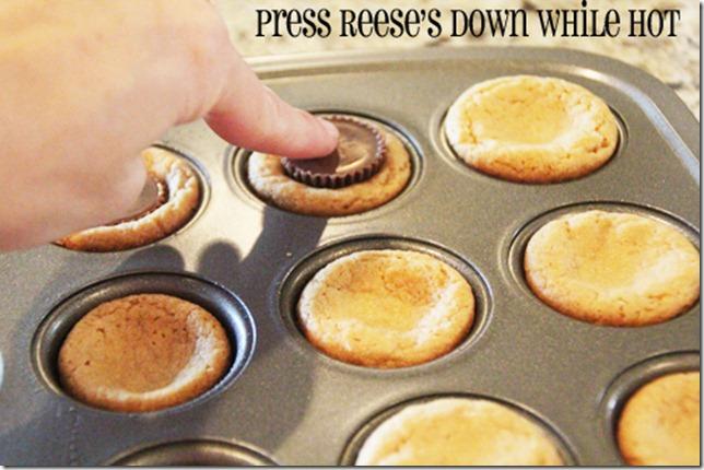 press Reese's down