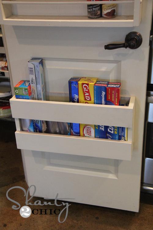 Kitchen Organization Diy Foil Amp More Organizer Shanty