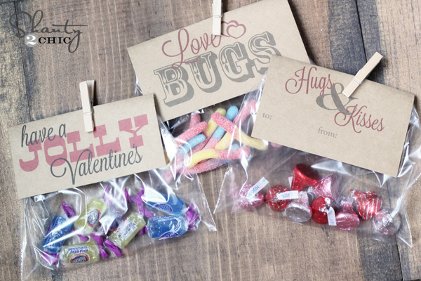 image about Bugs and Kisses Free Printable referred to as No cost Printable ~ Valentines - Shanty 2 Stylish