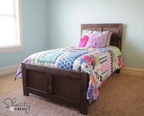DIY Bed Twin